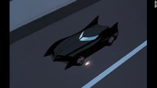 "When ""The New Batman Adventures"" began airing in 1997, its Batmobile seemed to take notes from the '90s Batman films."