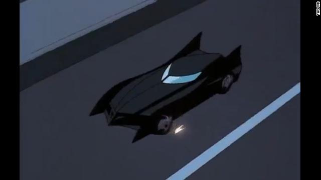 La evolución del batimóvil