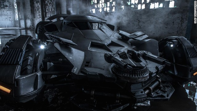 "On Wednesday, September 10, director Zack Snyder gave us an official look at the new Batmobile that will be in the movie ""Batman v Superman."" How does this one stack up against past on-screen versions?"