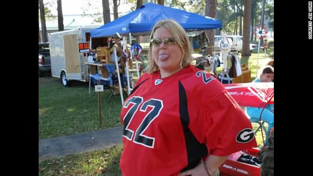 "In October 2011, <a href='http://ireport.cnn.com/docs/DOC-1156613'>Jen Corn</a> began a life-altering ""road trip,"" facing the reality she had denied for years -- her obesity. Corn started her journey at 311 pounds."