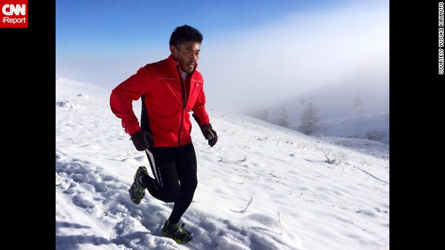 After getting advice from a friend, Kirimoto started running outside. Colorado's trails transformed his workouts from a daily gym routine to an outdoor running adventure.