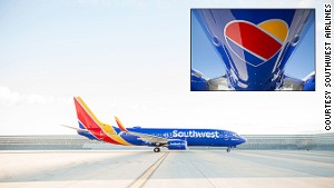 Airlines show off their new flying colors