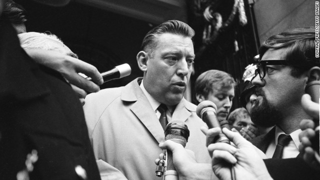Northern Ireland's former first minister and former Democratic Unionist Party leader <a href='http://www.cnn.com/2014/09/12/world/europe/northern-ireland-ian-paisley/index.html?hpt=hp_t2'>Ian Paisley</a> has died, his wife, Eileen, said in a statement on Friday, September 12. He was 88