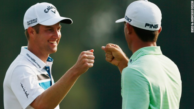 However, Horschel does not want to be told while he is on the course at East Lake. After round one, he was tied for the lead with friend Chris Kirk, one of his main rivals for the $10 million FedEx Cup prize.