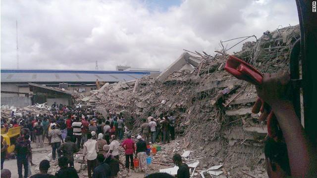 Al menos 44 muertos al derrumbarse un edificio de una iglesia en Nigeria