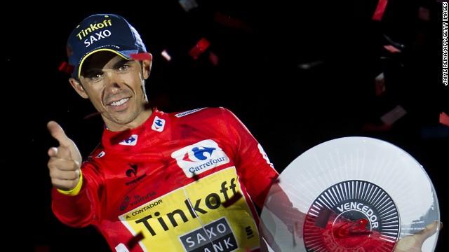 Alberto Contador gana por tercera vez la Vuelta a España