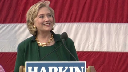 Take two: Clinton returns to Iowa