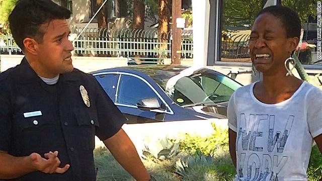 Actriz de 'Django Unchained' Daniele Watts y su novio son acusados de conducta lasciva