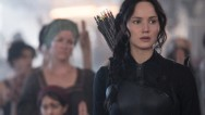 "On Monday, fans eager for more Katniss Everdeen got a sneak peek of the heroine in action in the first official trailer for ""The Hunger Games: Mockingjay -- Part I."""