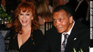 Reba McEntire joins The Champ in the fight