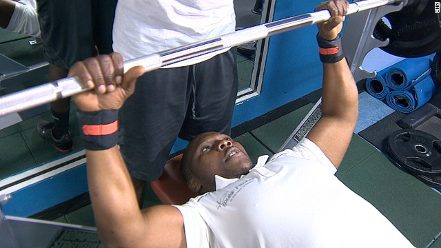 One of the leading spokesmen for Ghana's physically challenged is Charles Narh Teye, one of a handful of Ghanaian para-athletes who competed in the London 2012 Paralympics. Narh Teye had both his legs amputated when he was one-month old. Today, he is a professional body builder who also owns his own gym.