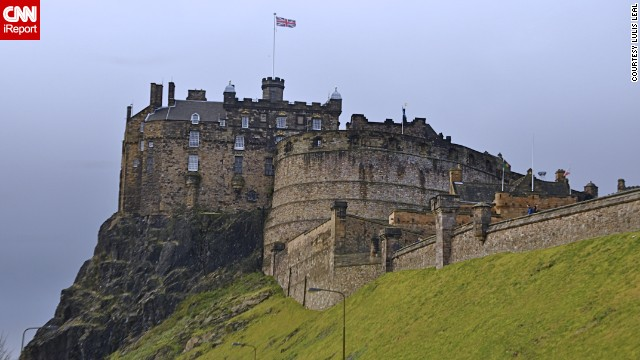 One of Scotland's most recognizable icons is majestic Edinburgh Castle. The historic fortress sits on top of volcanic rock, towering over the city of Edinburgh. See more stunning photos of Scotland here.