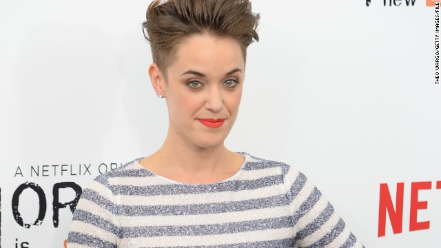 "Writer Lauren Morelli says working on ""Orange Is the New Black"" has helped her realize that she's gay, and she's reportedly started dating one of the show's stars, Samira Wiley."