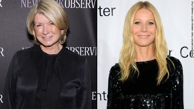 It seems Martha Stewart isn't the biggest fan of Gwyneth Paltrow's lifestyle brand, GOOP, but Pa