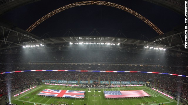 Wembley once again played host to the 15th International Series game to be played in the UK last weekend