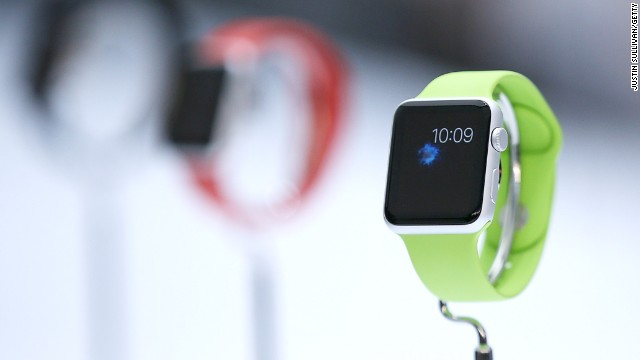 Apple launched its smart watch in September, allowing users to call and message friends with a click on the device