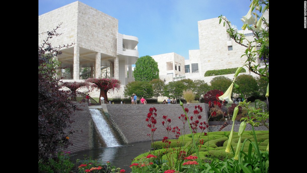 4. The Getty Center, Los Ángeles