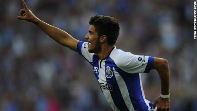 Ruben Neves is only 17 but he's already making scouts across Europe sit up and take notice. The Porto midfielder, who became the club's youngest ever goalscorer, has incredible vision for one so young and can produce some exquisite passes.