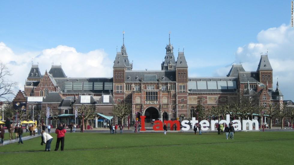 20. Rijksmuseum, Ámsterdam