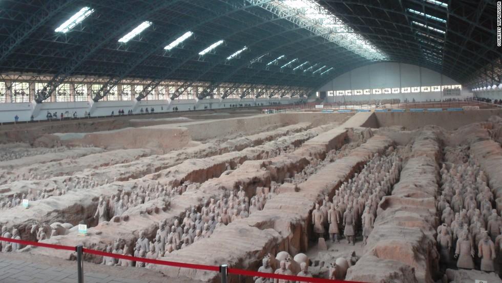 22. Museo de Guerreros y Caballos de Terracota de Qin