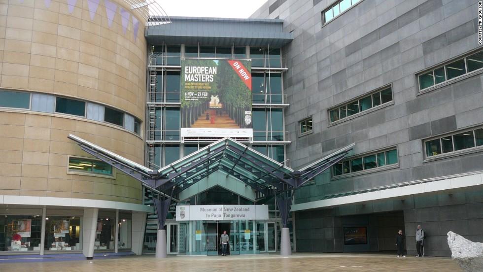 24. Museo de Nueva Zelanda, Wellington