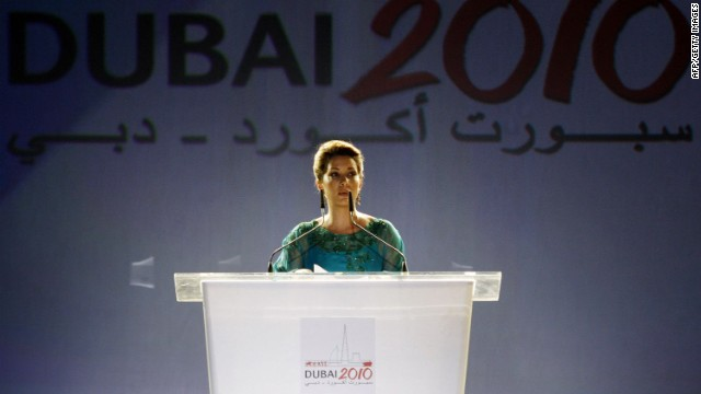 """Princess Haya says opportunities exist for women at the top of world sport, but there is a """"vacuum"""" between the grassroots level and positions of power."""