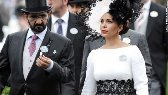 Another high-profile client is Sheik Mohammed Bin Rashid Al Maktoum, pictured here with his wife Princess Haya Bint Al Hussein of Jordan.