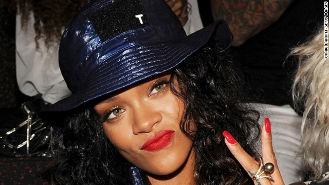 "Rihanna is steaming. A song by the singer -- who was assaulted by then-boyfriend Chris Brown in 2009 -- was pulled from ""Thursday Night Football"" in September 2014 amid coverage of domestic violence and the Ray Rice scandal. She<a href='https://twitter.com/rihanna/status/511844041131327488' target='_blank'> later tweeted,</a> ""CBS you pulled my song last week, now you wanna slide it back in this Thursday? NO, F*** you! Y'all are sad for pena"