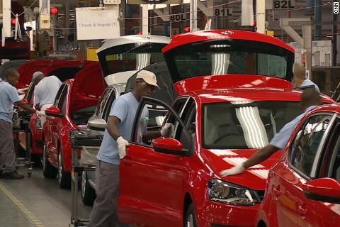 """Résultat de recherche d'images pour """"Volkswagen, south africa, Volkswagen vehicles plant"""""""