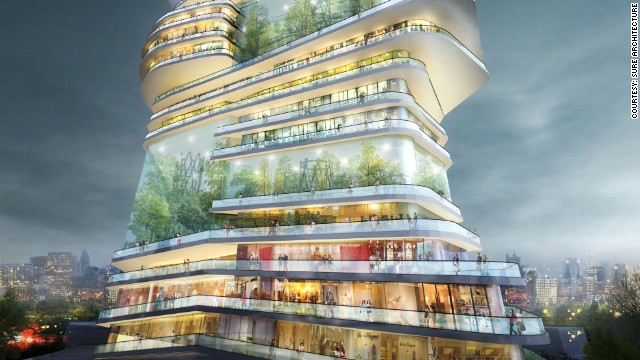 Could This Futuristic Building House An Entire City Cnn Com