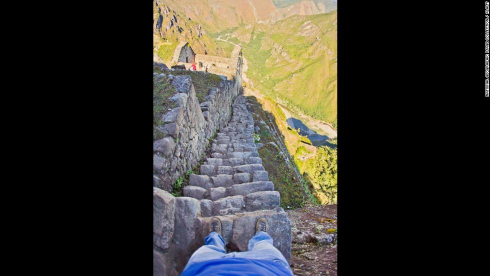 Escaleras Incas, Perú