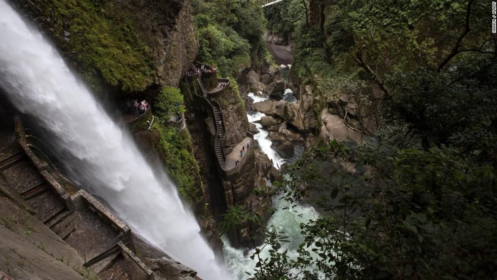 Catarata Pailon del Diablo, Ecuador
