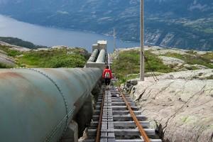 Escalera Florli, Noruega