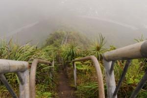 Escaleras de Haiku, Oahu, Hawái