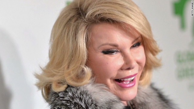 Source: Joan Rivers' doctor took selfie, began biopsy before her cardiac arrest