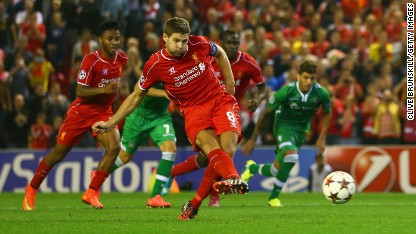 Football: Gerrard spares Reds blushes
