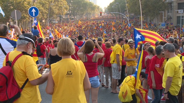 Thumbnail for Catalan leader sets date for vote on independence from Spain despite opposition