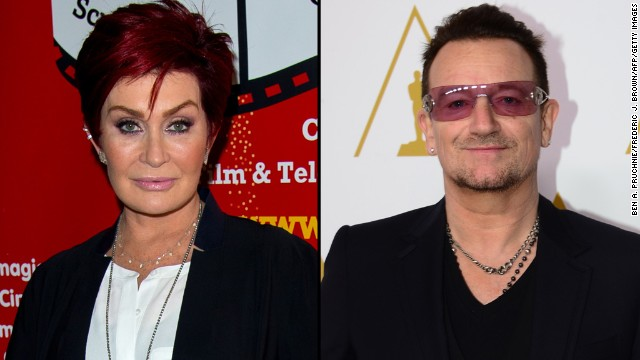 "Sharon Osbourne is not a fan of U2's giveaway. The TV personality took the group and its frontman, Bono, to task in September 2014 for releasing a free album via iTunes. She called their music ""mediocre"" and the group ""middle age political groupies."""