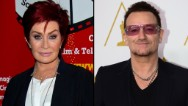 Note to the Grammys: You may not want to seat Sharon Osbourne anywhere near U2 at the next awards show.