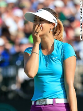 On the course, Wie has enjoyed a standout 2014 season, doubling her career tally to four pro titles. After holing her final putt at the U.S. Women's Open, Wie was overcome with a mix of joy and relief as she ended her long wait for a major championship.