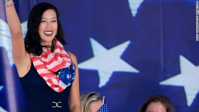 """In 2016, golf returns to the Olympic Games. Wie has set her sights on turning out in the stars and stripes and winning gold. """"It's definitely a huge goal of mine,"""" she said. """"Being able to represent your country and being able to win a gold medal would be one of my highest achievements, for sure."""""""