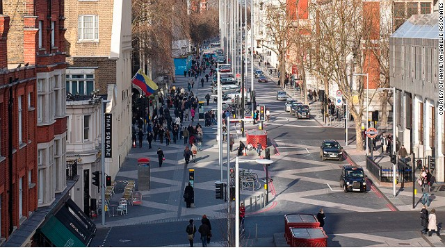 Shared spaces are changing urban environments, enabling motorists, pedestrians and cyclists to use roads as equals and without formal regulation.