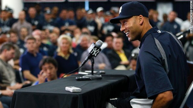 Jeter announces his retirement in February, saying the 2014 season would be his last.