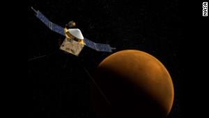 NASA spacecraft set to orbit Mars