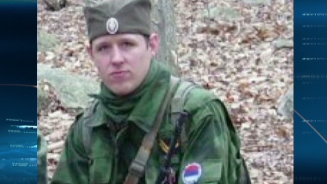 Is Frein living out a war simulation?