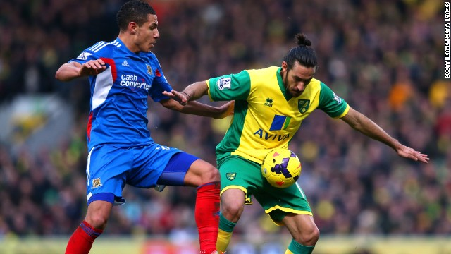 Gutierrez spent last season on loan at Norwich City but could not prevent the club from being relegated from the Premier League.