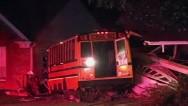 VIDEO: Autobús escolar se estrella contra una casa