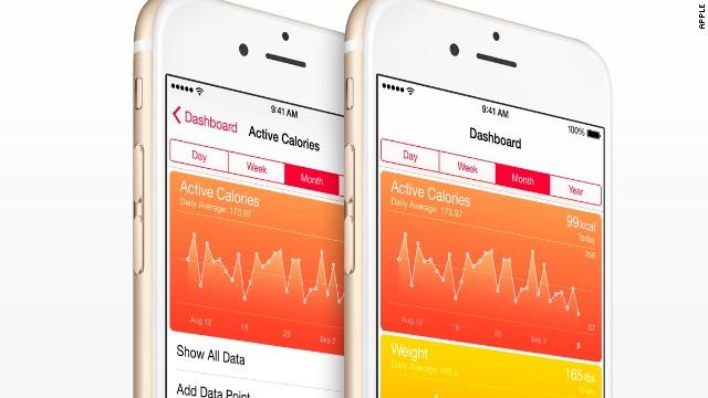 El HealthKit de Apple, con 'síntomas de enfermedad' en iOS 8
