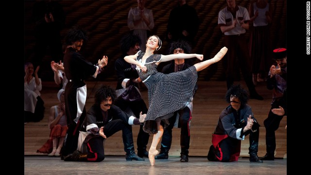 "Isabella Boylston performs in ""Bright Stream"" by choreographer Alexei Ratmansky."