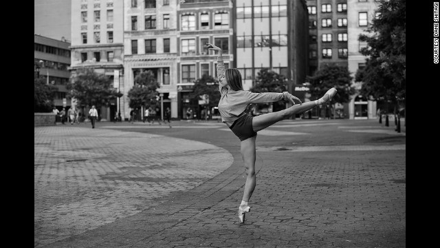 A shoot for Ballerina Project in Union Square, New York